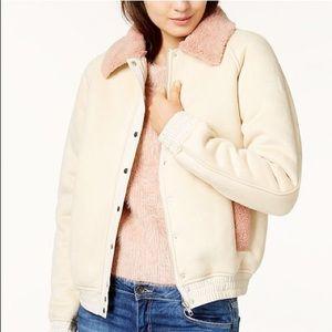 MINKPINK EUC Shearling Style Jacket - Trendy Fur!